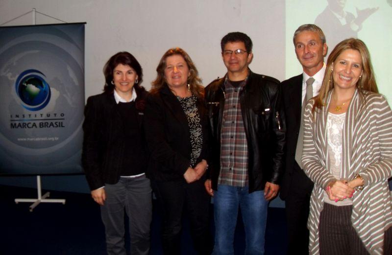 Márcia Ferronato, Márcia Sacchet, Francisco Padilha, Mário Ponticelli, Daniela Bitencourt